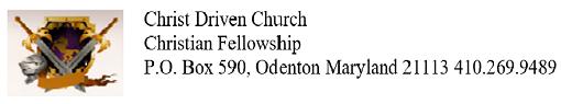 Christ Driven Church